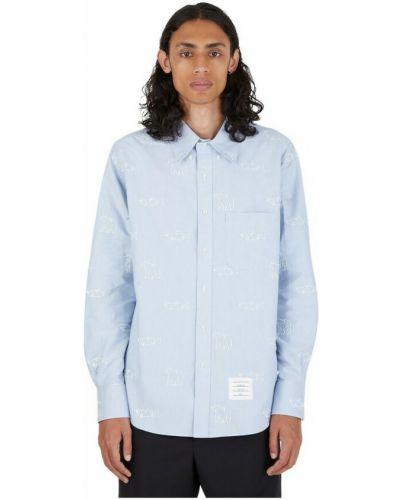 Niebieska koszula Thom Browne