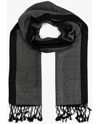Серый шарф Fabretti