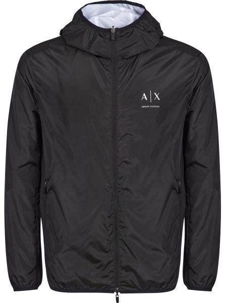 Куртка двусторонняя - черная Armani Exchange