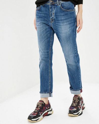 Синие джинсы бойфренды Iceberg