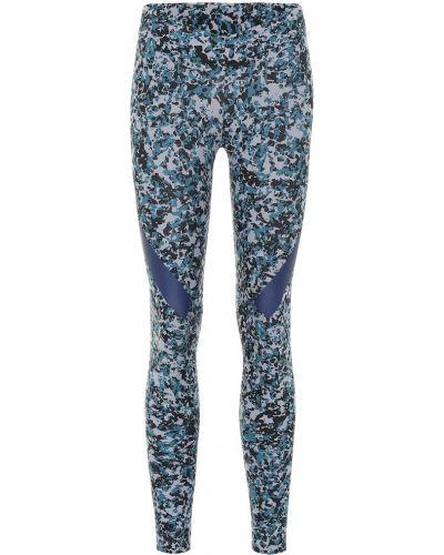 Леггинсы для фитнеса синий Adidas By Stella Mccartney