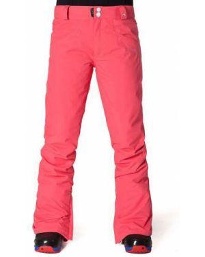 Нейлоновые розовые брюки сноубордические мембранные Horsefeathers®