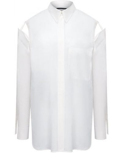 Хлопковая рубашка - белая Y`s