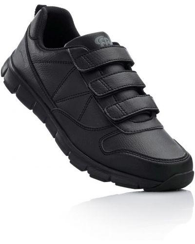 Черные кроссовки на липучках Bonprix