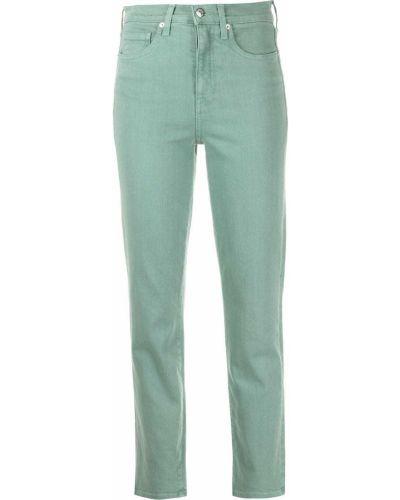 Зеленые джинсы классические Veronica Beard