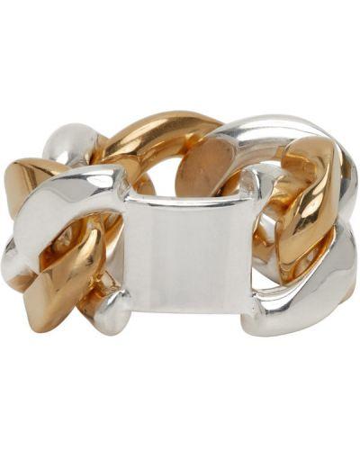 Цепочка из золота из серебра серебряный Bottega Veneta