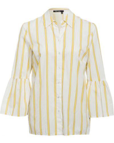 Biała bluzka w paski Marc Aurel