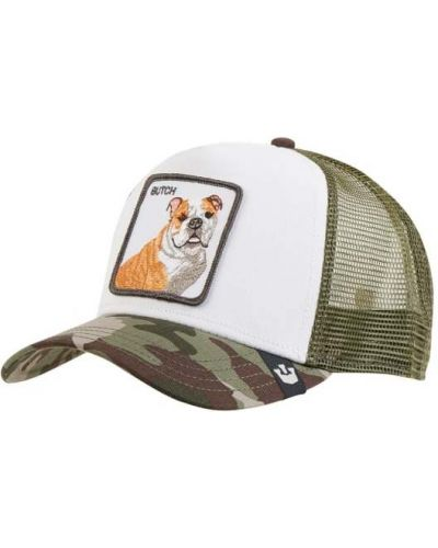 Zielona czapka bawełniana Goorin Bros