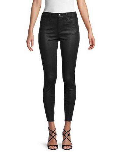 Зауженные черные укороченные джинсы стрейч Bcbgeneration