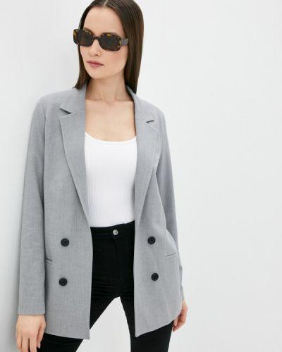Серый пиджак Defacto