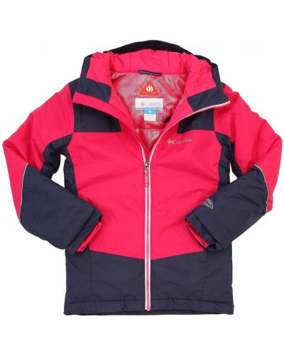 Куртка горнолыжная с капюшоном - розовая Columbia