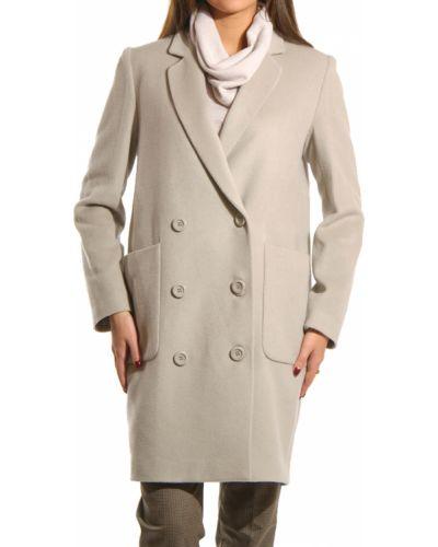 Шерстяное пальто - бежевое Perspective