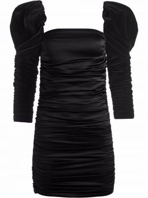 Шелковое платье макси - черное Alice+olivia