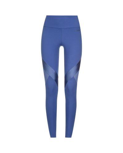 Облегающие синие спортивные брюки для фитнеса Demix