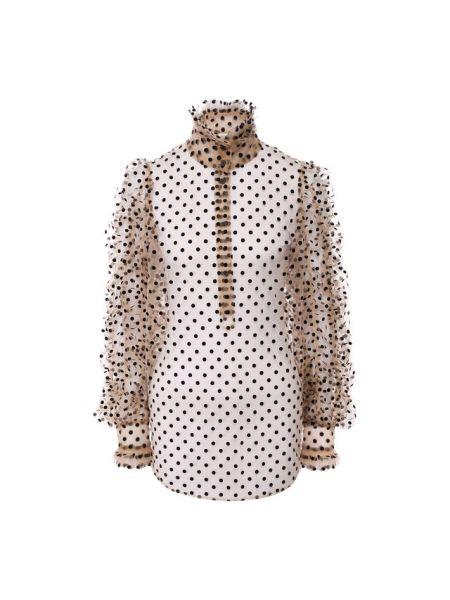 Блузка в горошек Dries Van Noten