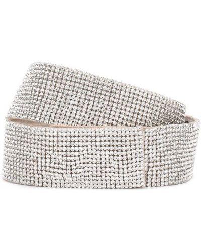Ремень серебряного цвета Dolce & Gabbana