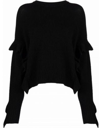 Черная джемпер с длинными рукавами 3.1 Phillip Lim