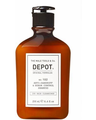 Szampon do włosów chudy łagodzący Depot