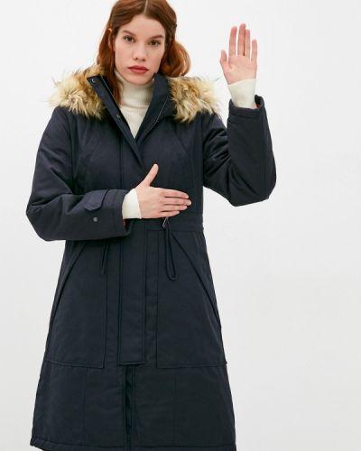 Теплая черная куртка French Connection