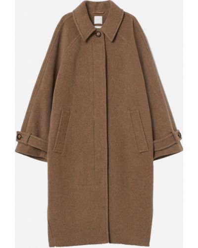 Шерстяное пальто - бежевое H&m