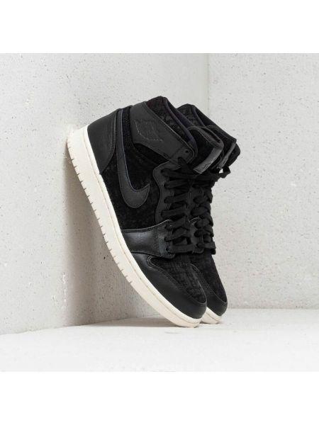 Czarne półbuty vintage Jordan