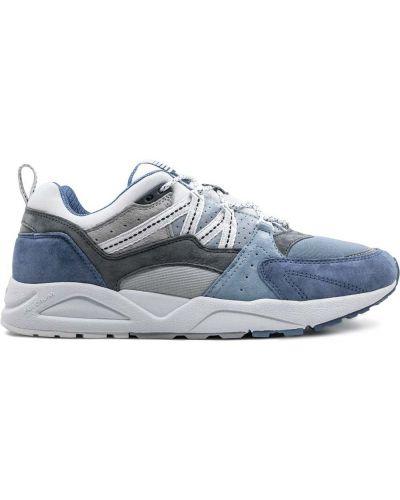 Кожаные кроссовки - синие Karhu