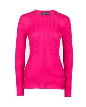 Джемпер розовый Versace