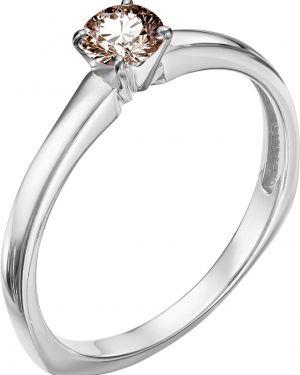 Кольцо из золота коричневый Vesna Jewelry