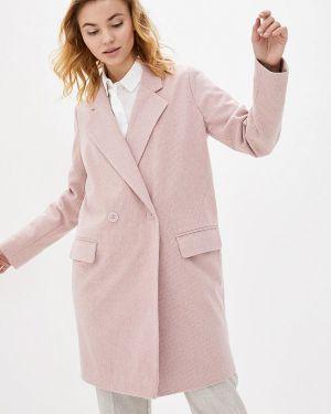 Розовое пальто с капюшоном 7arrows