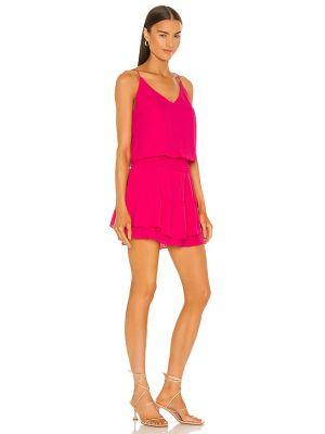 Różowa sukienka mini Krisa