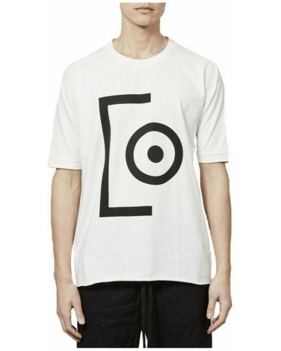 Biała t-shirt z printem Thom Krom