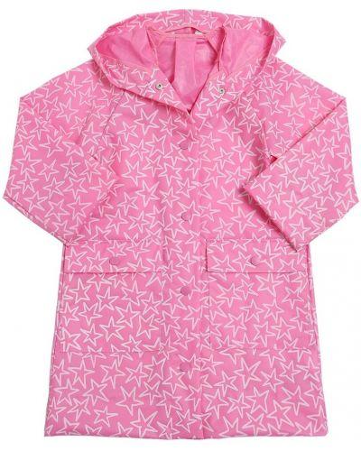 Płaszcz z kapturem z kieszeniami Stella Mccartney Kids