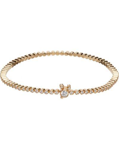 Złota bransoletka ze złota z diamentem Sophie Bille Brahe