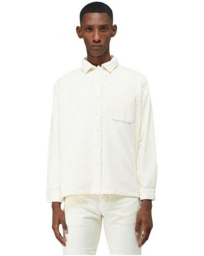 Biała koszula sztruksowa Erl