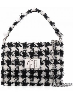 Черная сумка с карманами Furla