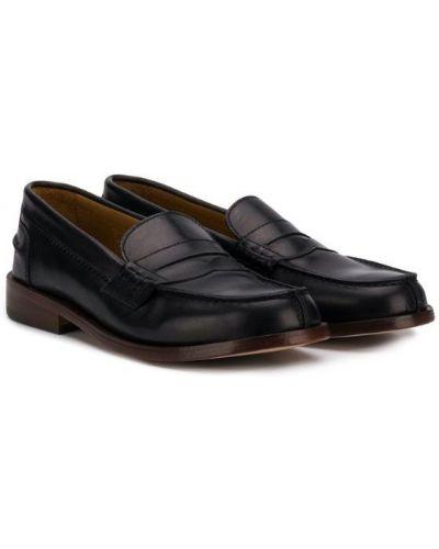 Лоферы кожаный для обуви Gallucci Kids