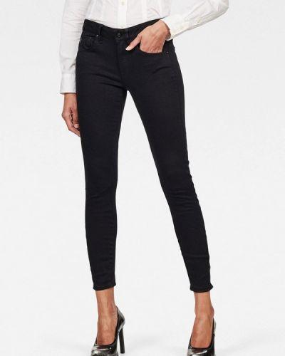 Черные джинсы-скинни узкого кроя G-star