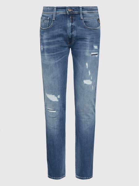Niebieskie mom jeans Replay