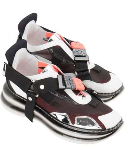 Czarne sneakersy Loriblu