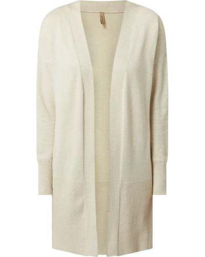 Biały sweter bez zapięcia Soyaconcept