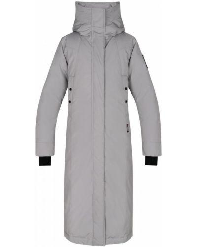 Пальто с капюшоном - серое Red Fox