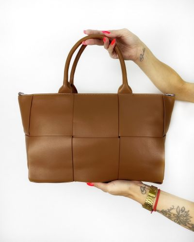 Кожаная сумка Polina & Eiterou