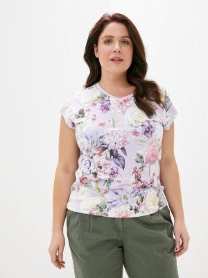 Фиолетовая футболка с короткими рукавами Begood