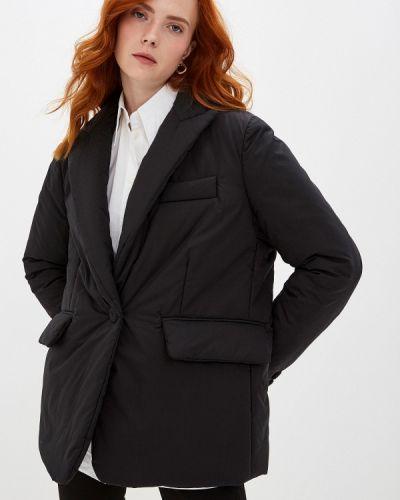 Утепленная куртка демисезонная черная Mm6 Maison Margiela