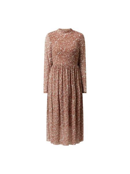 Sukienka rozkloszowana - niebieska Tom Tailor Denim