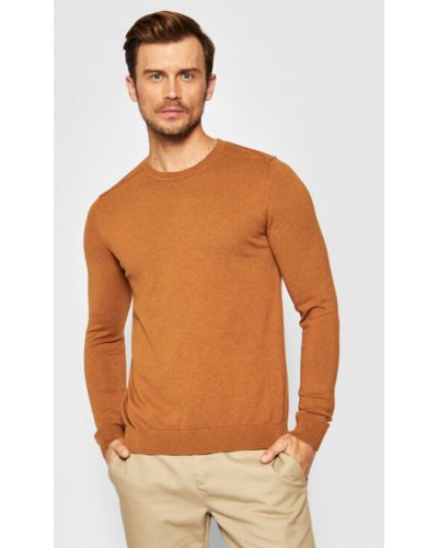 Sweter - żółty Selected Homme