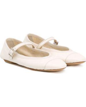 Белые балетки Gielle Kids