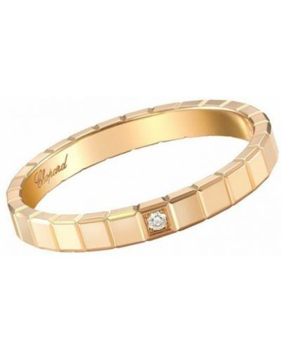 Żółty pierścionek Chopard
