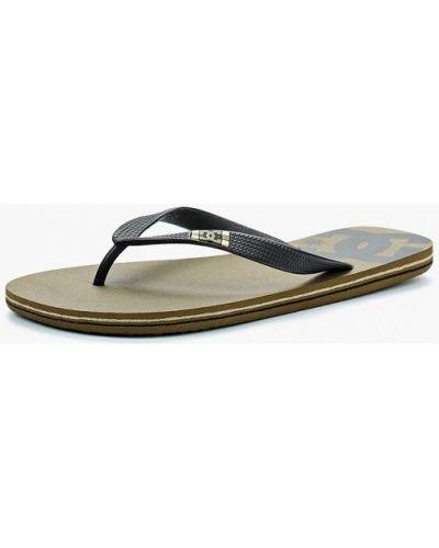 Черные сланцы Dc Shoes