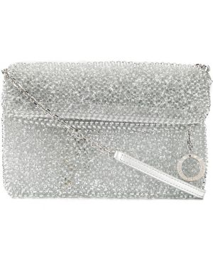 Серебряная сумка на цепочке Anteprima